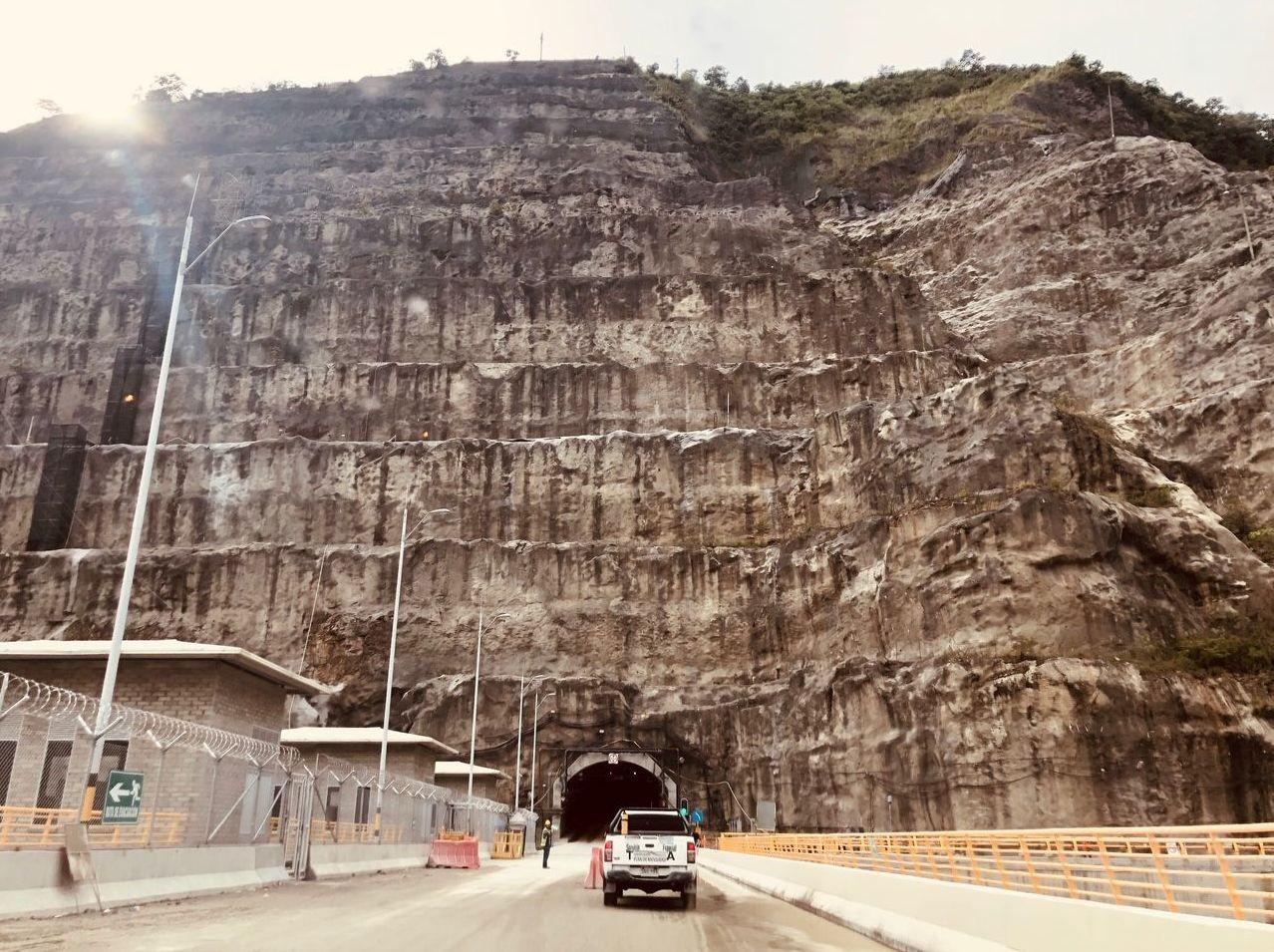 La ruta hacia las obras de Hidroituango