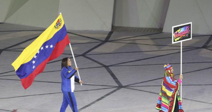 Elvismar Rodriguez, abanderada de Venezuela en los Juegos Panamericanos de Lima 2019