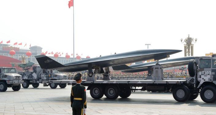 El dron hipersónico chino WZ-8