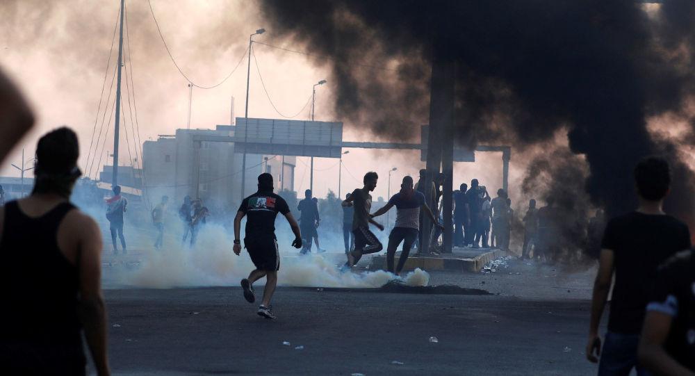 Protestas en Irak