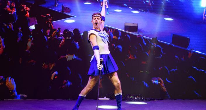 El 'cosplay' Sailor Mercury en la Comic Con de Rusia de 2019