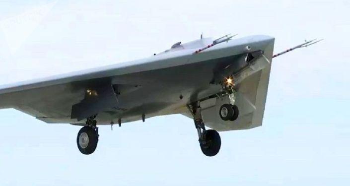 El dron ruso Ojotnik