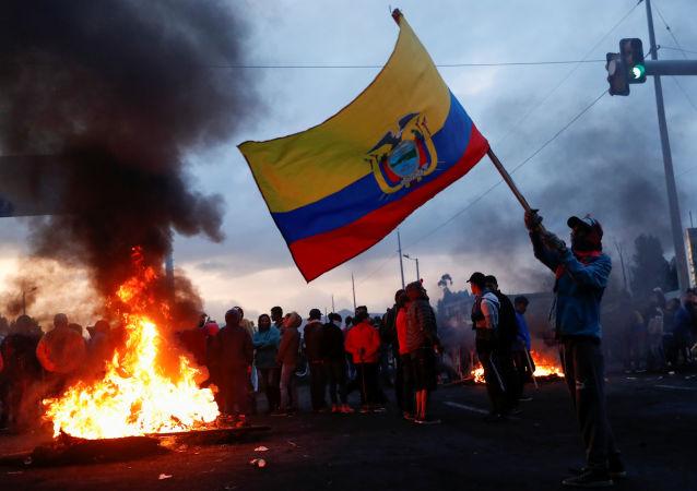 Protestas en Ecuador tras las medidas econímicas de Lenín Moreno