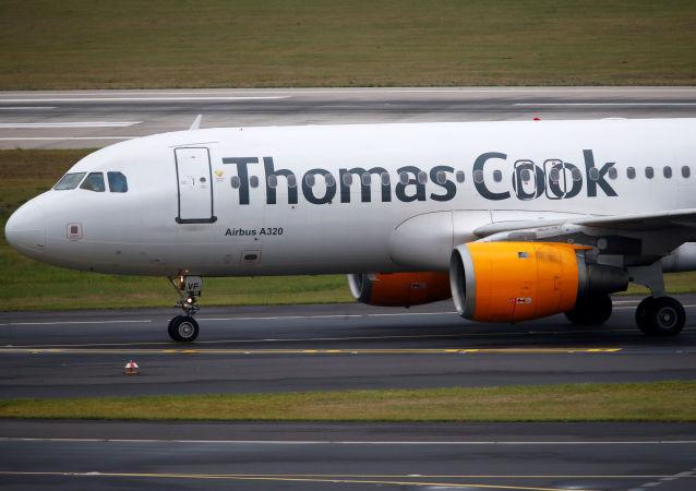 Un Airbus A320 de Thomas Cook