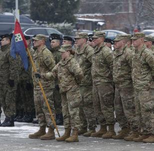 Soldados de EEUU en Polonia (archivo)