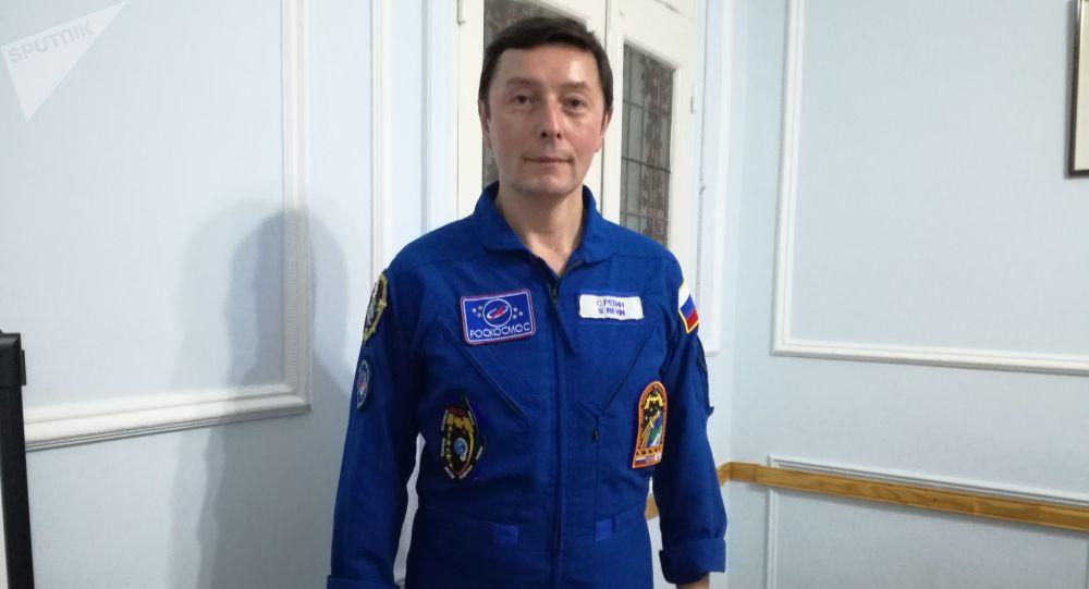 Serguéi Révin, cosmonauta ruso