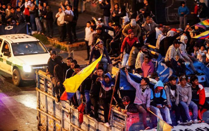 Movimiento indígena de Ecuador anuncia que Moreno ya derogó decreto sobre combustibles