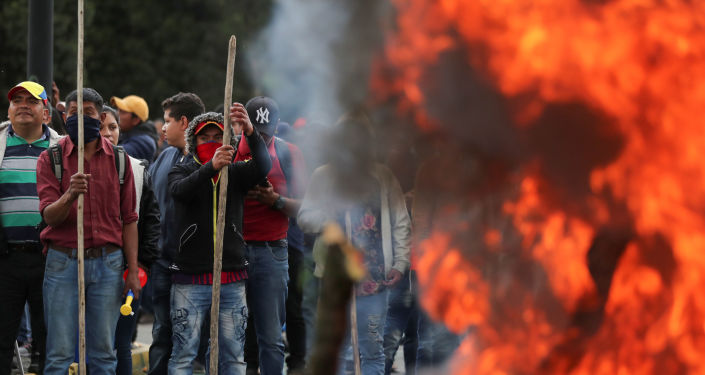 Protestas en <strong><a href=