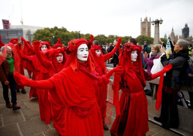 Las multitudinarias protestas contra el cambio climático recorren el planeta