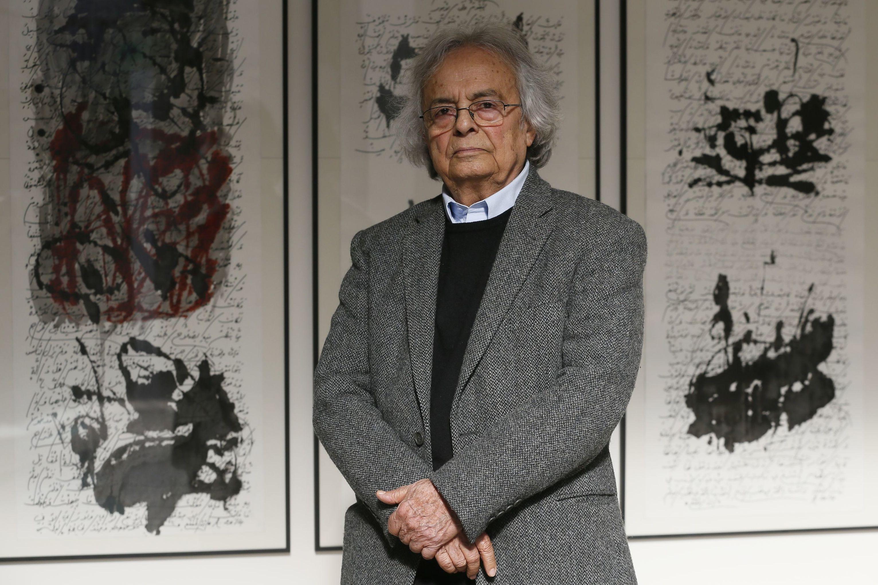 Adonis, el poeta y ensayista sirio