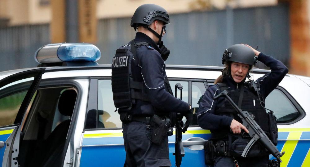 La policía alemana tras los tiroteos