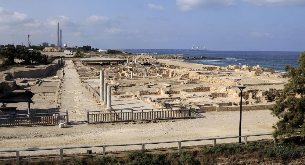Las ruinas de Cesárea Marítima