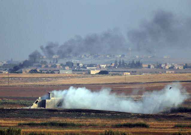 La operación militar turca en Siria