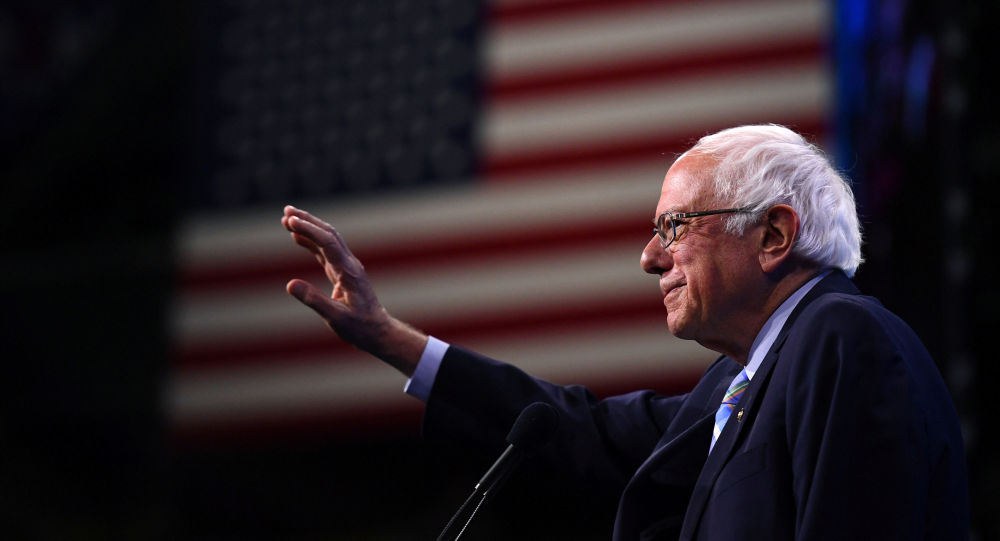 Bernie Sanders, senador y aspirante demócrata a las presidenciales de EEUU 2020
