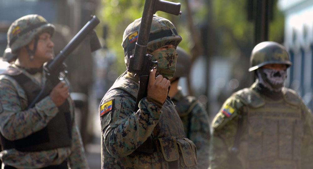 Los militares de Ecuador