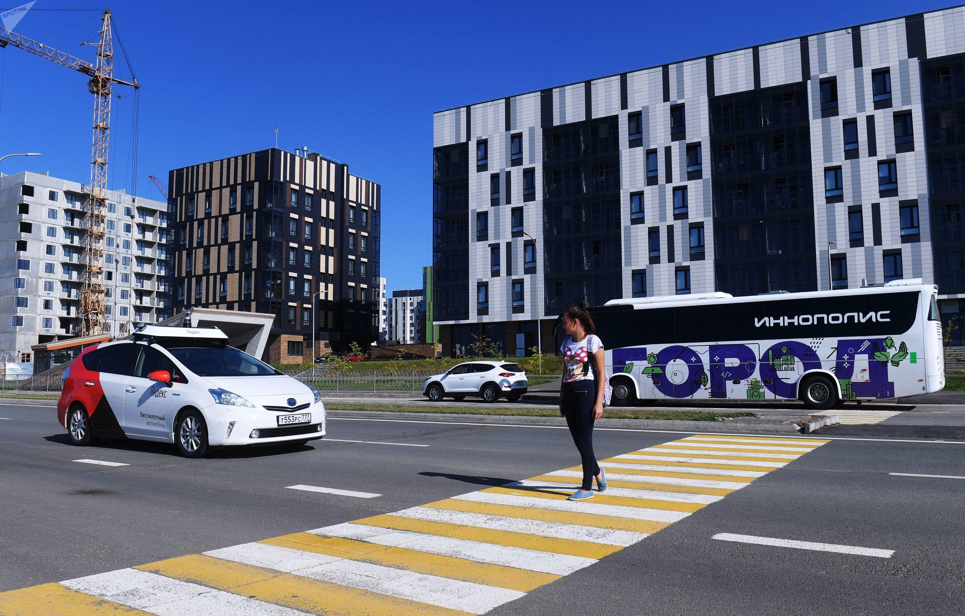 Taxi robótico en Innopolis