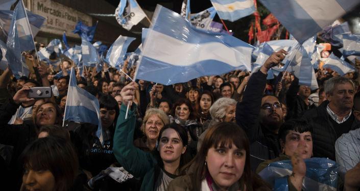 Buenos Aires durante las elecciones primarias en Argentina