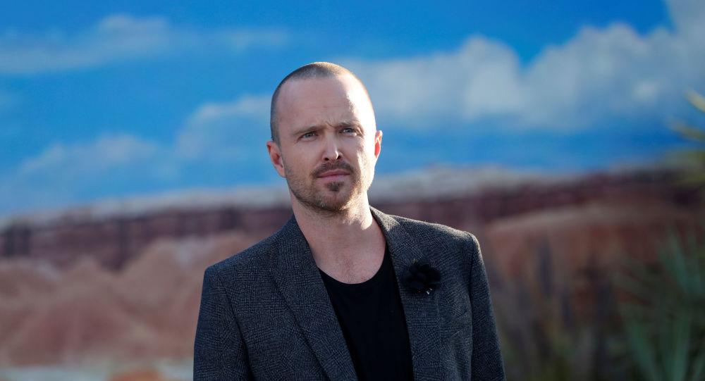 Aaron Paul que protagoniza a Jesse Pinkman en 'El camino, una película de Breaking Bad'