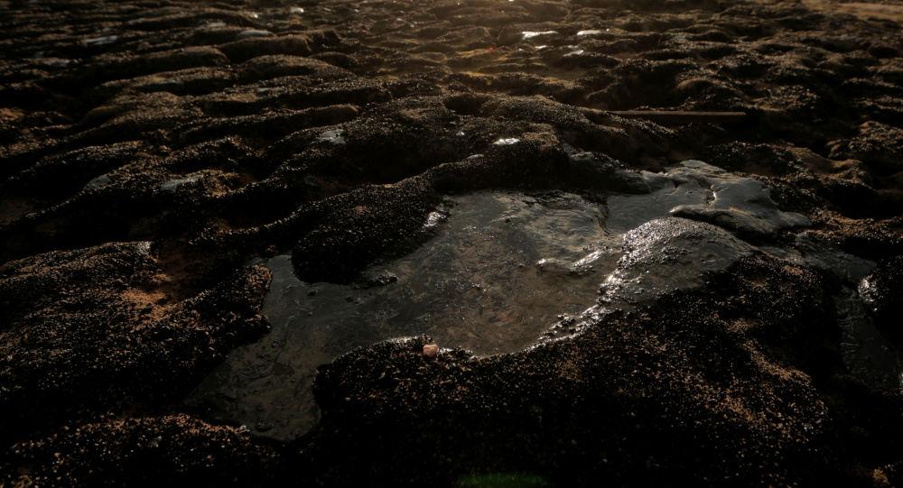 Petróleo en la costa de Brasil