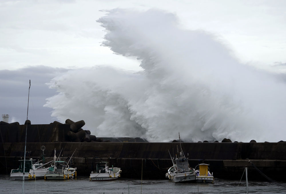 El monstruoso tifón Hagibis azota Japón