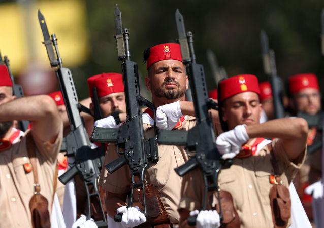 Desfile de la fiesta nacional española