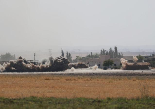 La operación turca en Siria