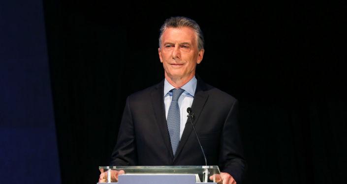 Mauricio Macri, presidente argentino