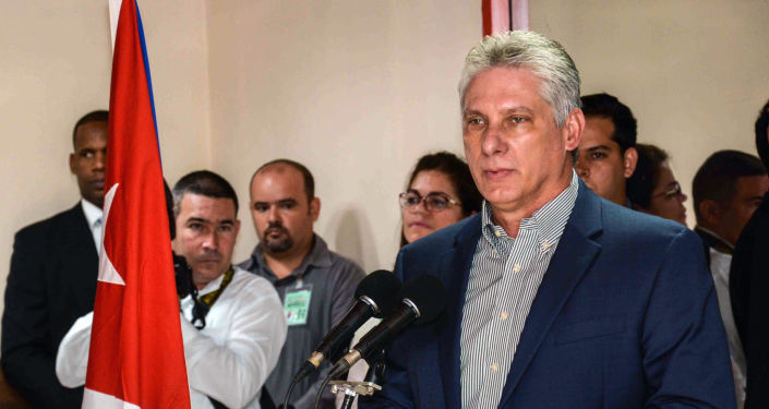 Miguel Díaz-Canel, el presidente cubano (archivo)