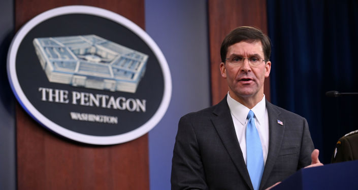Mark Esper, secretario de Defensa de EEUU