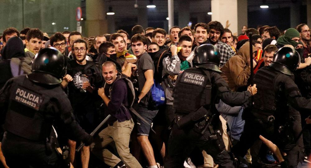 Así fue la tercera jornada de protestas en Barcelona