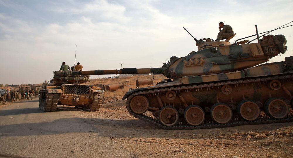 Vehículos militares turcos