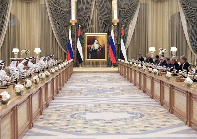 La visita oficial del presidente ruso, Vladímir Putin, a EAU