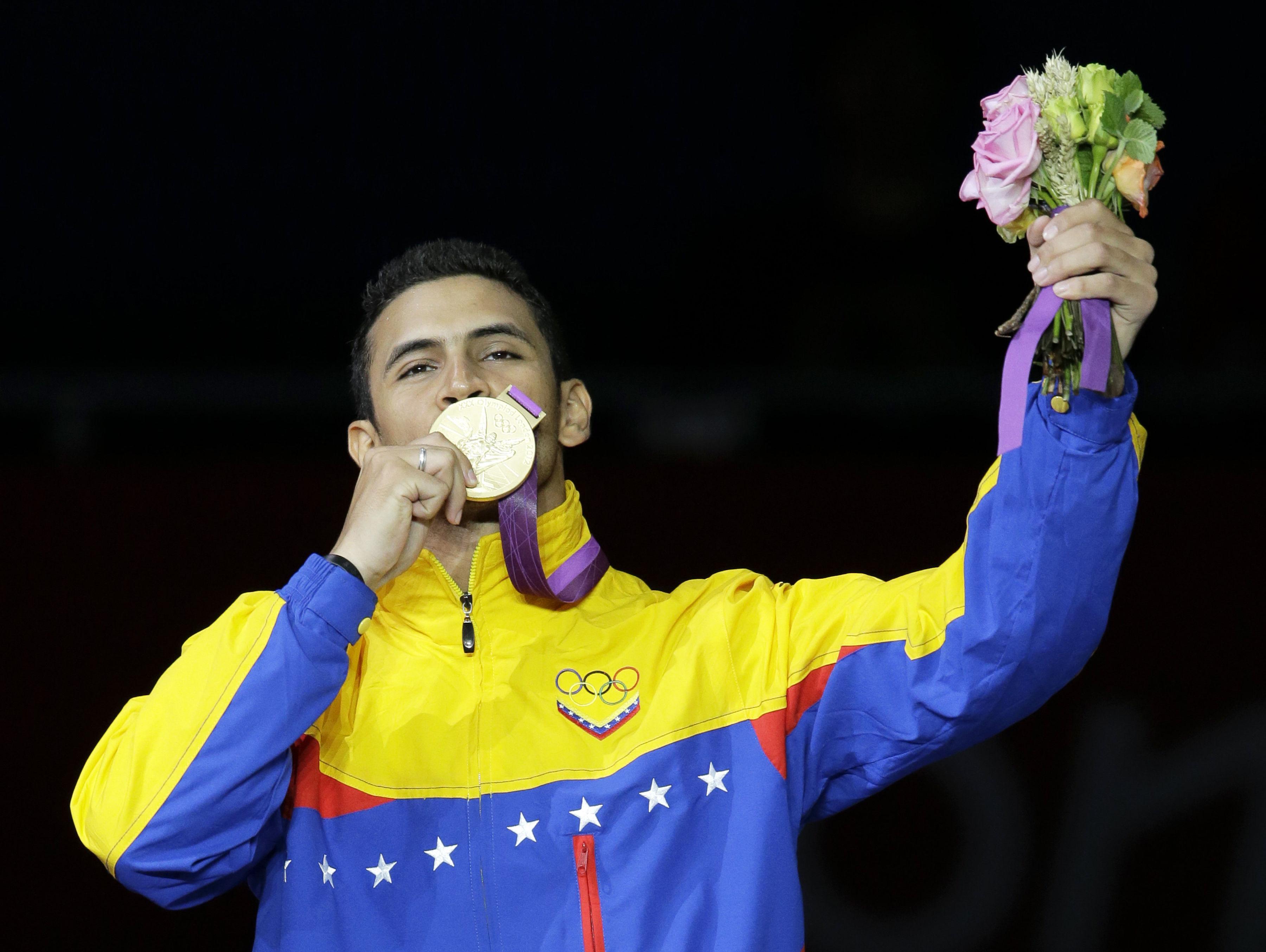 Rubén Limardo, campeón de esgrima Venezolano