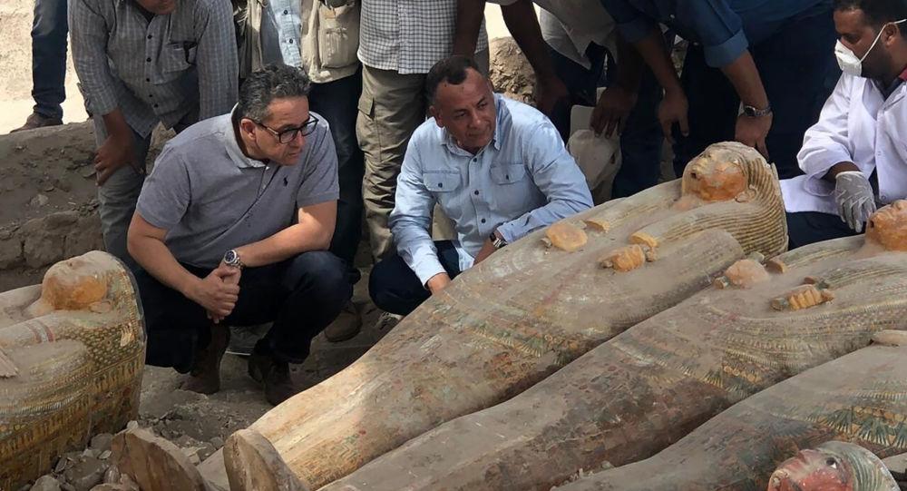Hallan 20 Ataúdes Del Antiguo Egipto En Luxor Un