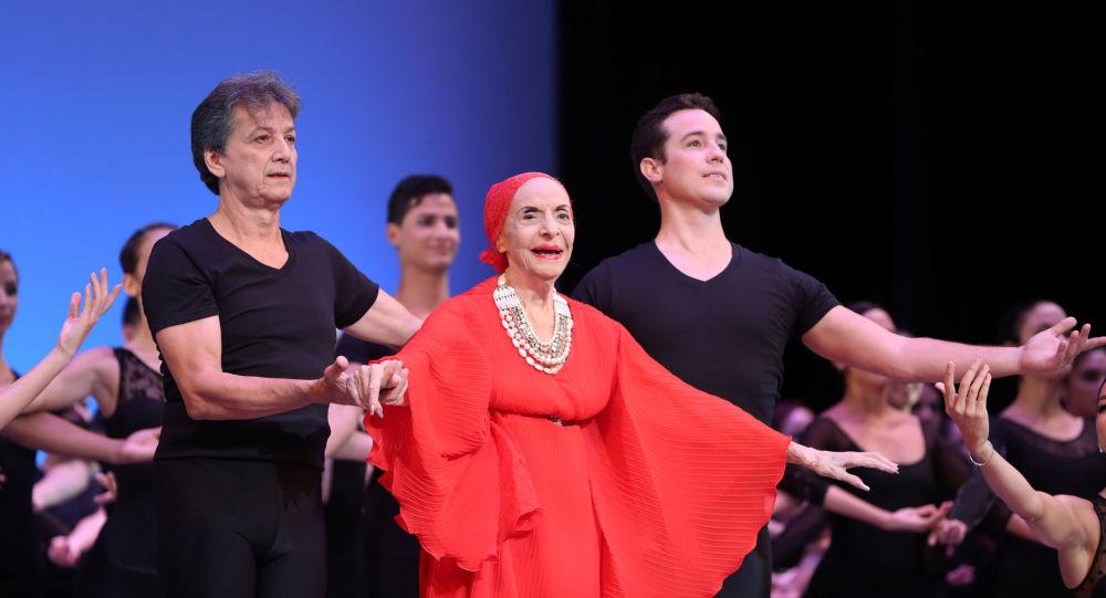 Alicia Alonso, bailarina cubana y figura emblemáticas de la danza clásica