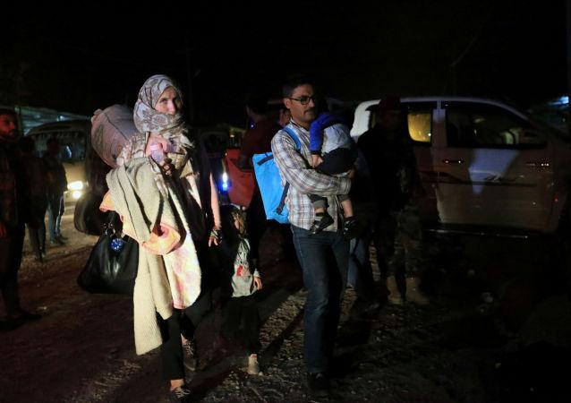 Refugiados sirios en Irak