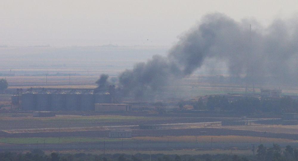 Un ataque de Turquía contra Siria (archivo)