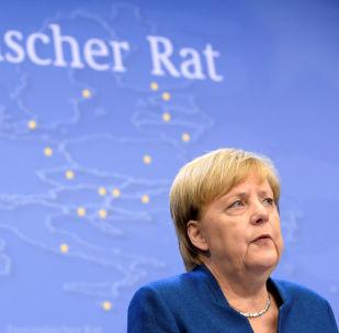 Angela Merkel, la canciller federal alemana