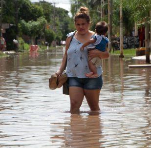 Inundaciones en Argentina