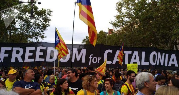 Huelga general y movilizaciones en Cataluña