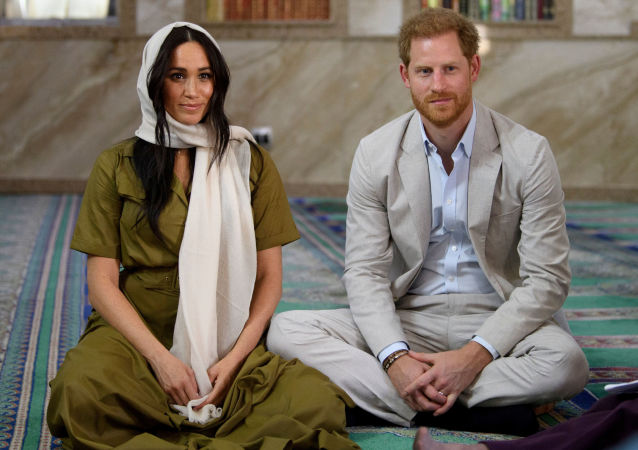 La duquesa y el duque de Sussex, Meghan Markle y el príncipe Enrique en Sudáfrica