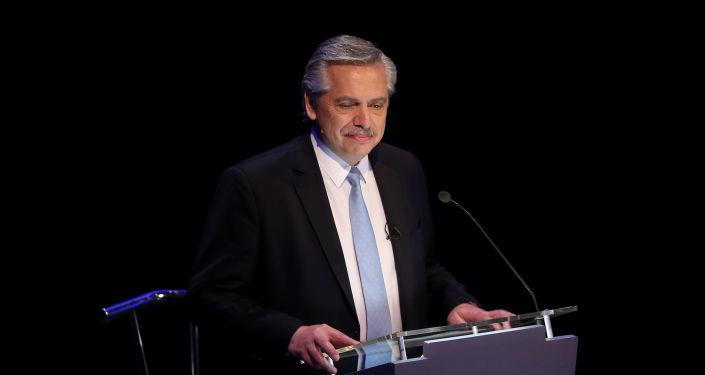 Alberto Fernández, líder de la oposición y candidato a presidente en Argentina
