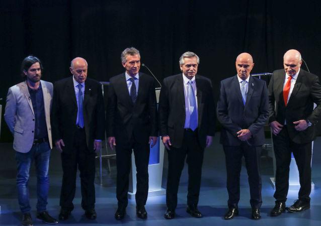 Los candidatos presidenciales de Argentina