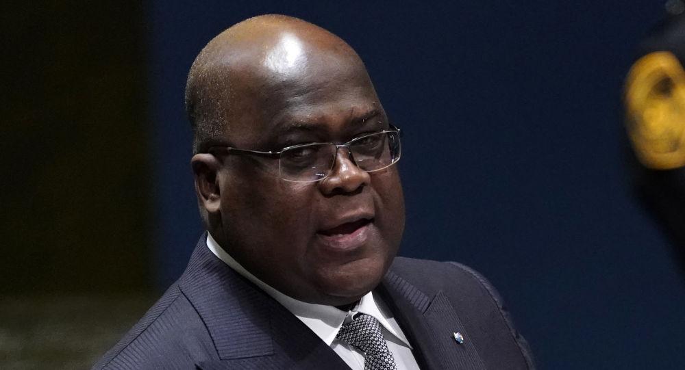 Félix Tshisekedi, presidente de la República Democrática del Congo (RDC)