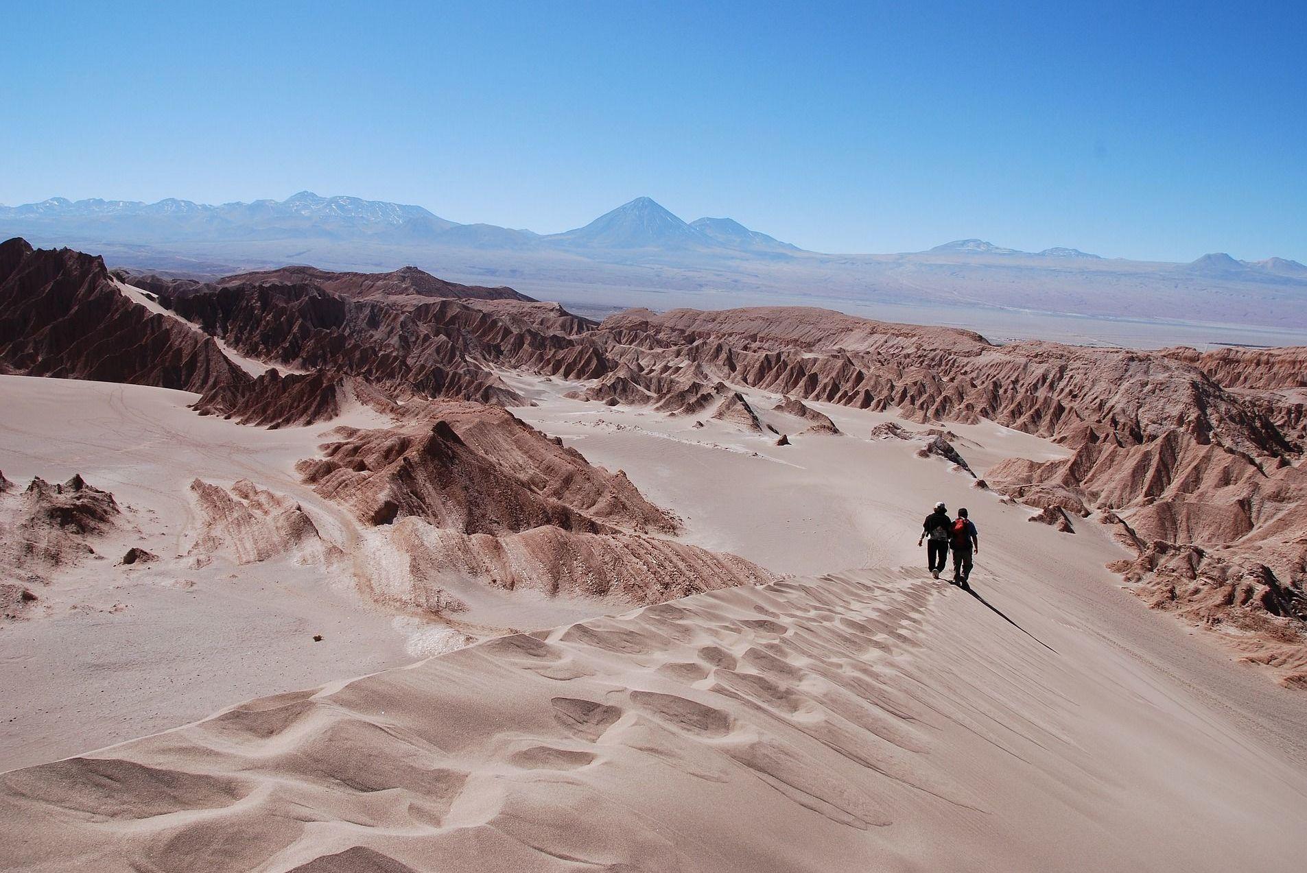 Desierto de Atacama en Chile