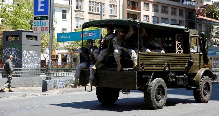 Militares de Chile (Archivo)