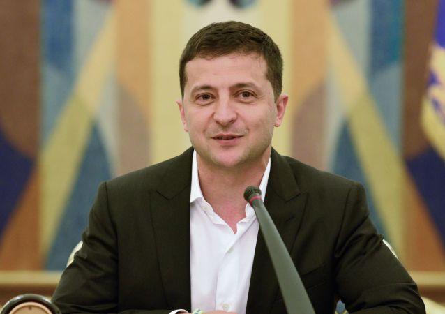 Volodímir Zelenski, presidente de Ucrania