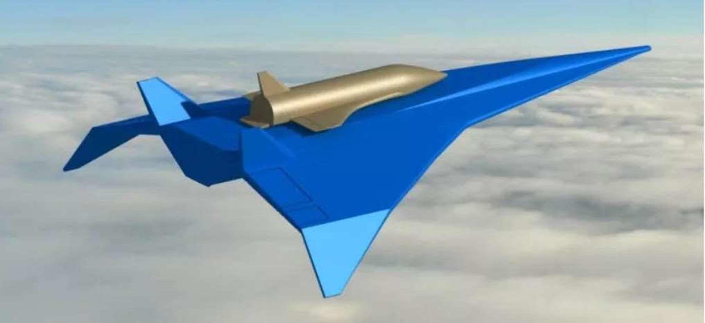 Avión nodriza chino para una nave espacial