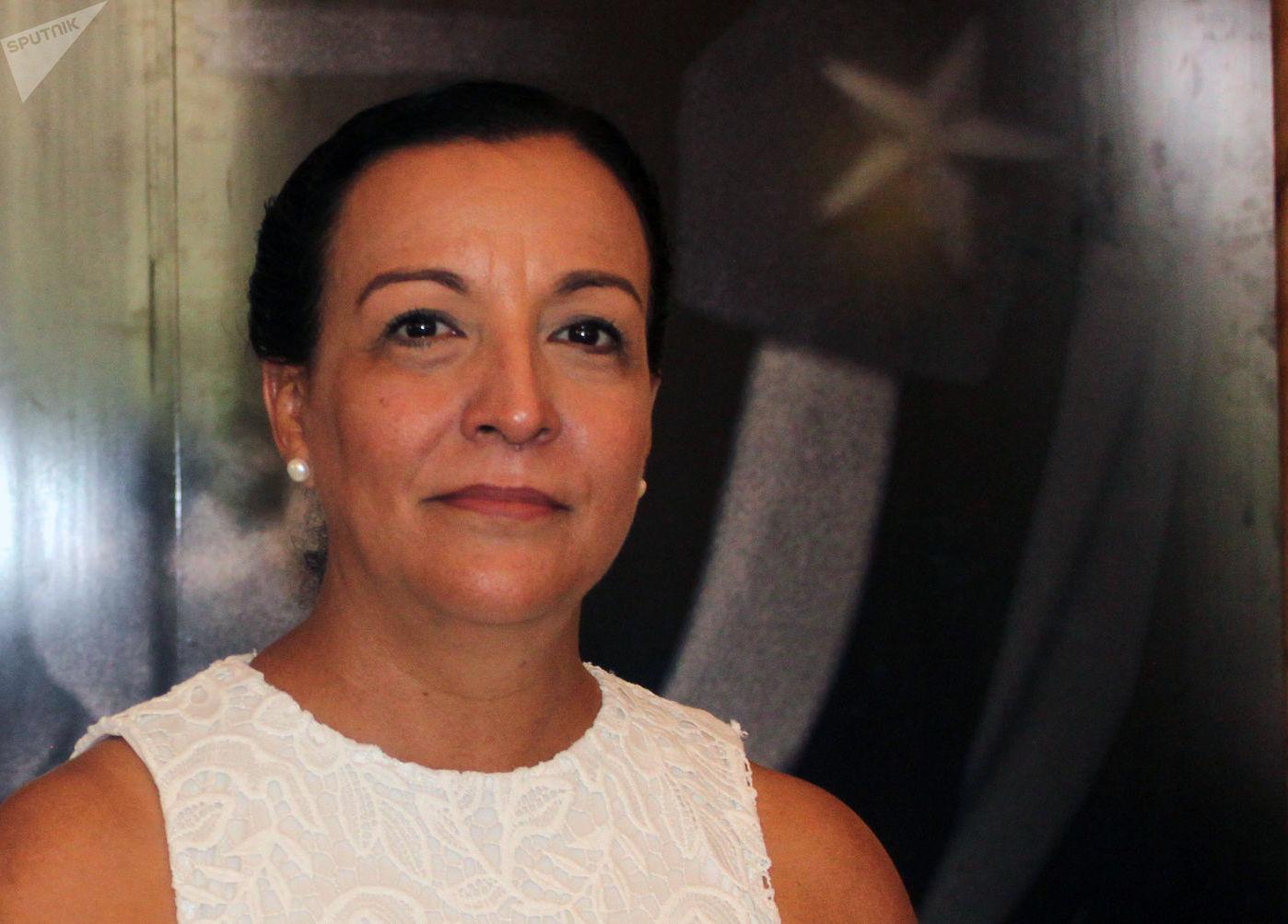 Lizt Alfonso, directora del ballet Lizt Alfonso Dance Cuba
