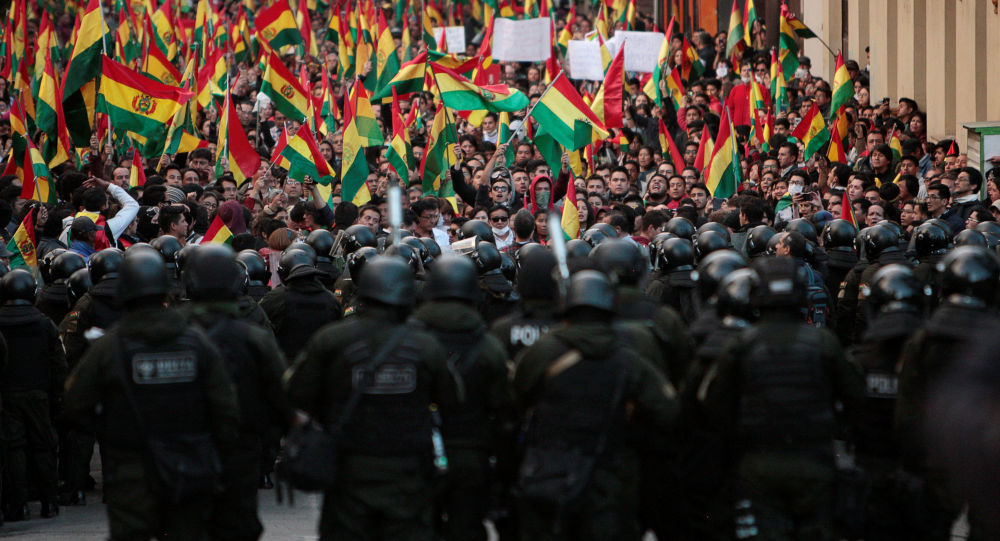 """Bolivia se prepara para convertirse en un """"campo de batalla, un Vietnam"""""""